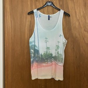 H&M male tank tops size XS - mildly worn